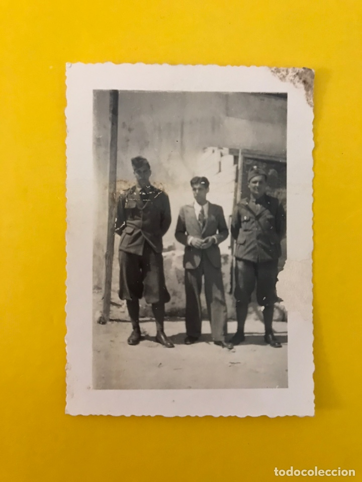 MILITAR, ITALIA, FOTOGRAFÍA ANTIGUA. SOLDADOS DEL PERÍODO FASCISTA DE MUSSOLINI. (H.1940?) (Militar - Fotografía Militar - II Guerra Mundial)