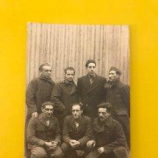 Militaria: MILITAR. ITALIA, FOTOGRAFÍA GRUPO DE SOLDADOS ITALIANOS.., ÚLTIMOS DÍAS DE LA II GUERRA MUNDIAL. Lote 195327200