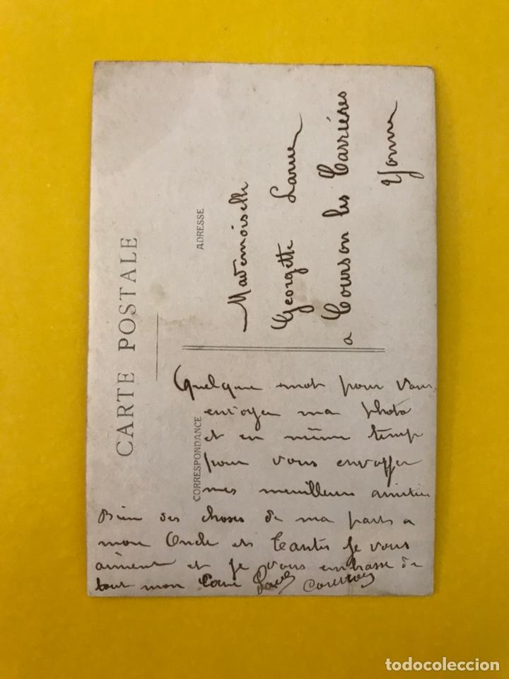 Militaria: MILITAR. Francia y la II Guerra Mundial, fotografía Soldados. (h.1940?) Dedicada.... - Foto 2 - 195327662
