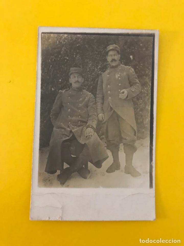 MILITAR. FRANCIA Y LA II GUERRA MUNDIAL, FOTOGRAFÍA SOLDADOS. (H.1940?) DEDICADA.... (Militar - Fotografía Militar - II Guerra Mundial)