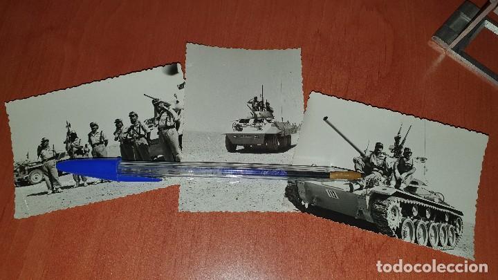 FOTOGRAFIAS LEGIONARIOS DE MANIOBRAS EN EL SAHARA, 1959, DE 10 X 7 CM. (Militar - Fotografía Militar - Otros)
