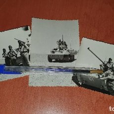 Militaria: FOTOGRAFIAS LEGIONARIOS DE MANIOBRAS EN EL SAHARA, 1959, DE 10 X 7 CM.. Lote 195337128