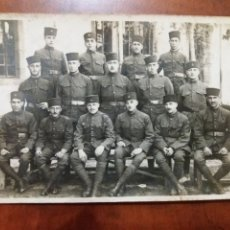 Militaria: FOTO ANTIGUA , GRUPO DE MILITARES CASABLANCA MARRUCOS 1923.. Lote 195353520