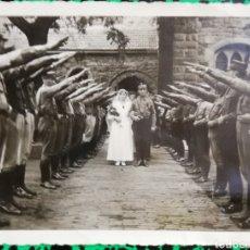 Militaria: FOTO ORIGINAL - BODA DE UN MILITAR - PJRB. Lote 195361725