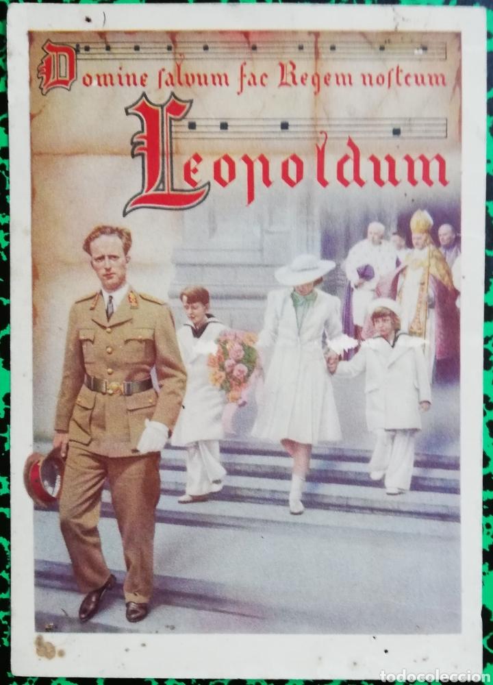 LEOPOLDUM - REY LEOPOLDO III DE BÉLGICA - PJRB (Militar - Fotografía Militar - Otros)