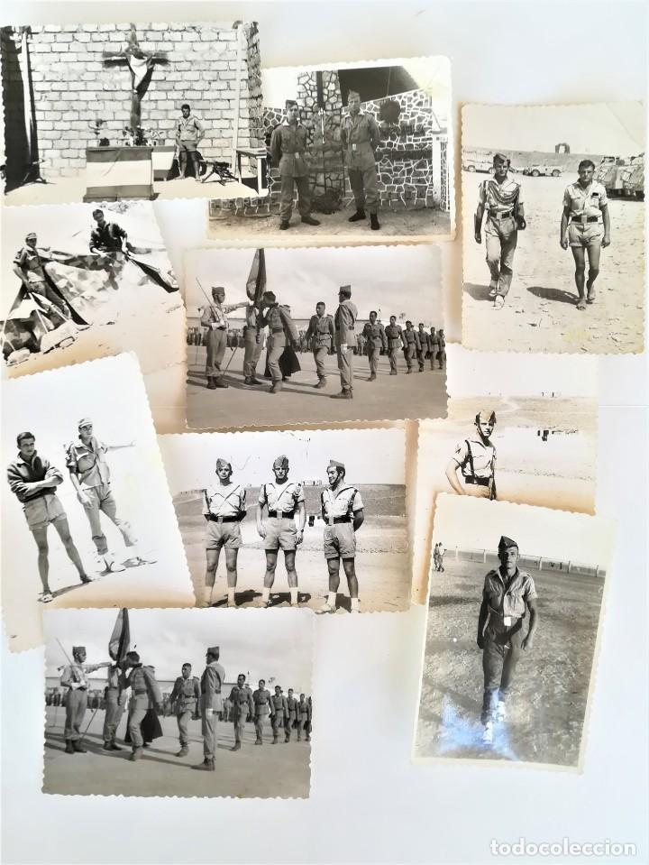 Militaria: LEGION ESPAÑOLA,TERCIO. SAHARA ESPAÑOL,10 FOTOGRAFIAS LEGIONARIOS EN CAMPAMENTO MILITAR AÑOS60,AAIUN - Foto 2 - 195389442