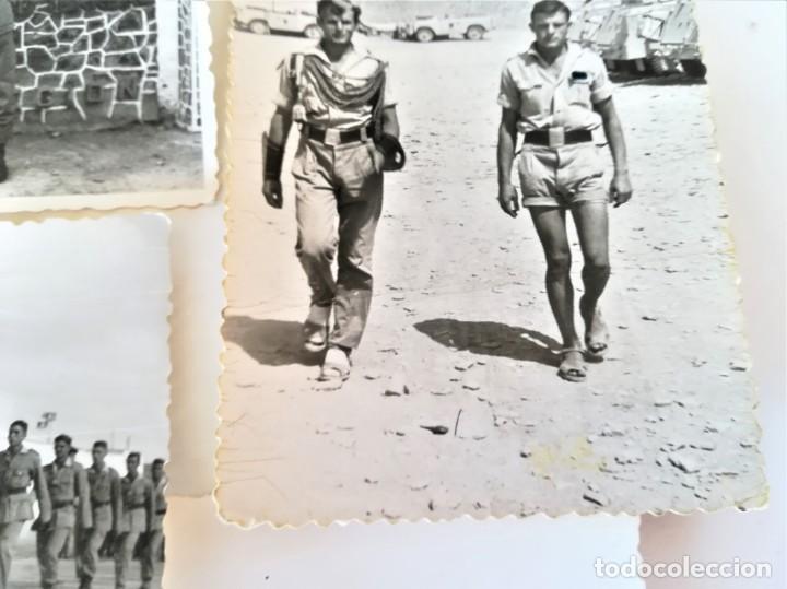 Militaria: LEGION ESPAÑOLA,TERCIO. SAHARA ESPAÑOL,10 FOTOGRAFIAS LEGIONARIOS EN CAMPAMENTO MILITAR AÑOS60,AAIUN - Foto 3 - 195389442