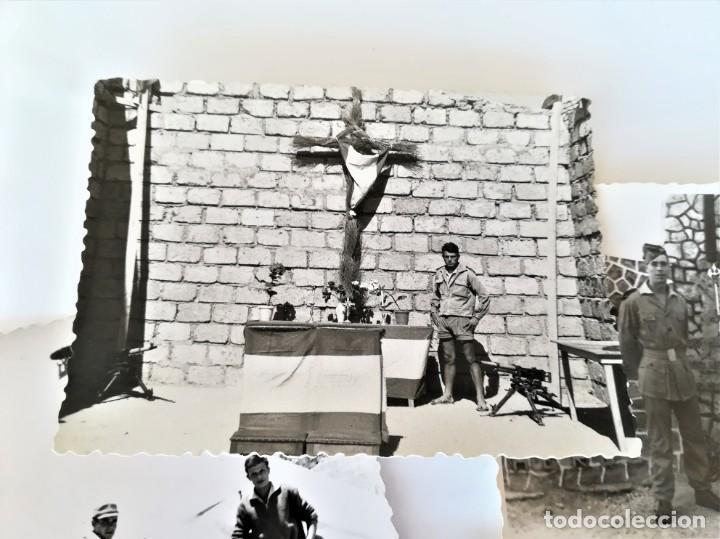 Militaria: LEGION ESPAÑOLA,TERCIO. SAHARA ESPAÑOL,10 FOTOGRAFIAS LEGIONARIOS EN CAMPAMENTO MILITAR AÑOS60,AAIUN - Foto 4 - 195389442
