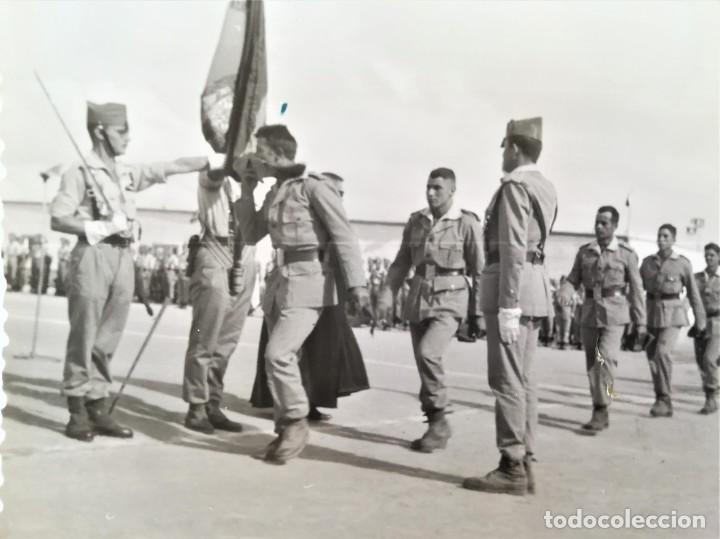 Militaria: LEGION ESPAÑOLA,TERCIO. SAHARA ESPAÑOL,10 FOTOGRAFIAS LEGIONARIOS EN CAMPAMENTO MILITAR AÑOS60,AAIUN - Foto 5 - 195389442