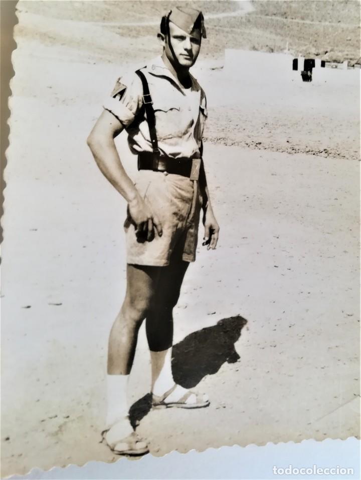Militaria: LEGION ESPAÑOLA,TERCIO. SAHARA ESPAÑOL,10 FOTOGRAFIAS LEGIONARIOS EN CAMPAMENTO MILITAR AÑOS60,AAIUN - Foto 6 - 195389442