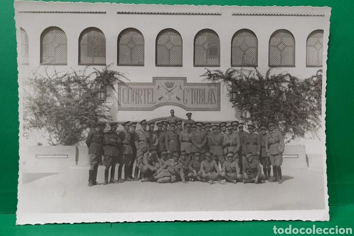 CUARTEL DE REGULARES GZ. TABLAS. CEUTA . (Militar - Fotografía Militar - Otros)