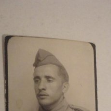 Militaria: ANTIGUA FOTOGRAFIA TIPO FOTOMATON DE MILITAR.AÑOS 30,40?. Lote 195427421