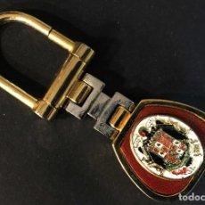 Militaria: LLAVERO ESCUDO ESPAÑA. Lote 195466562