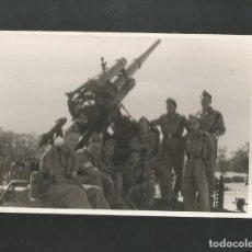 Militaria: ANTIGUA FOTOGRAFIA MILITAR. Lote 195526627