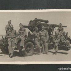 Militaria: ANTIGUA FOTOGRAFIA MILITAR. Lote 195526632