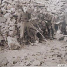 Militaria: SOLDADOS DE LA WEHRMACHT EN LA LINEA SIGFRIDO - EL MURO DEL OESTE. III REICH. AÑO 1939. Lote 195573211