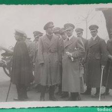 Militaria: REG. ARTILLERÍA 3. SEVILLA. 4-12-1937. STA. BÁRBARA. CAPITANES ITALIANOS, NOMBRES AL DORSO.. Lote 195704696