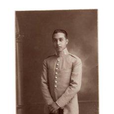 Militaria: POSTAL FOTOGRÁFICA. MILITAR DEL CUERPO DE INGENIEROS. FOTO CELEDONIO. MADRID.. Lote 195757617