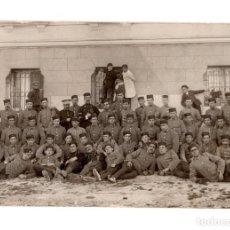 Militaria: POSTAL FOTOGRÁFICA. SOLDADO GUERRA DE ÁFRICA. ARTILLERÍA. FOTO MARTE.. Lote 195759015