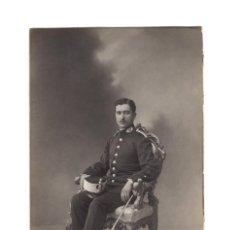 Militaria: FOTOGRAFÍA. INTENDENCIA MILITAR. 9X14.. Lote 195765626