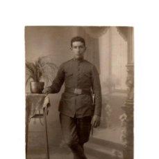 Militaria: POSTAL FOTOGRÁFICA. CAZADORES DE MONTAÑA.. Lote 195765828