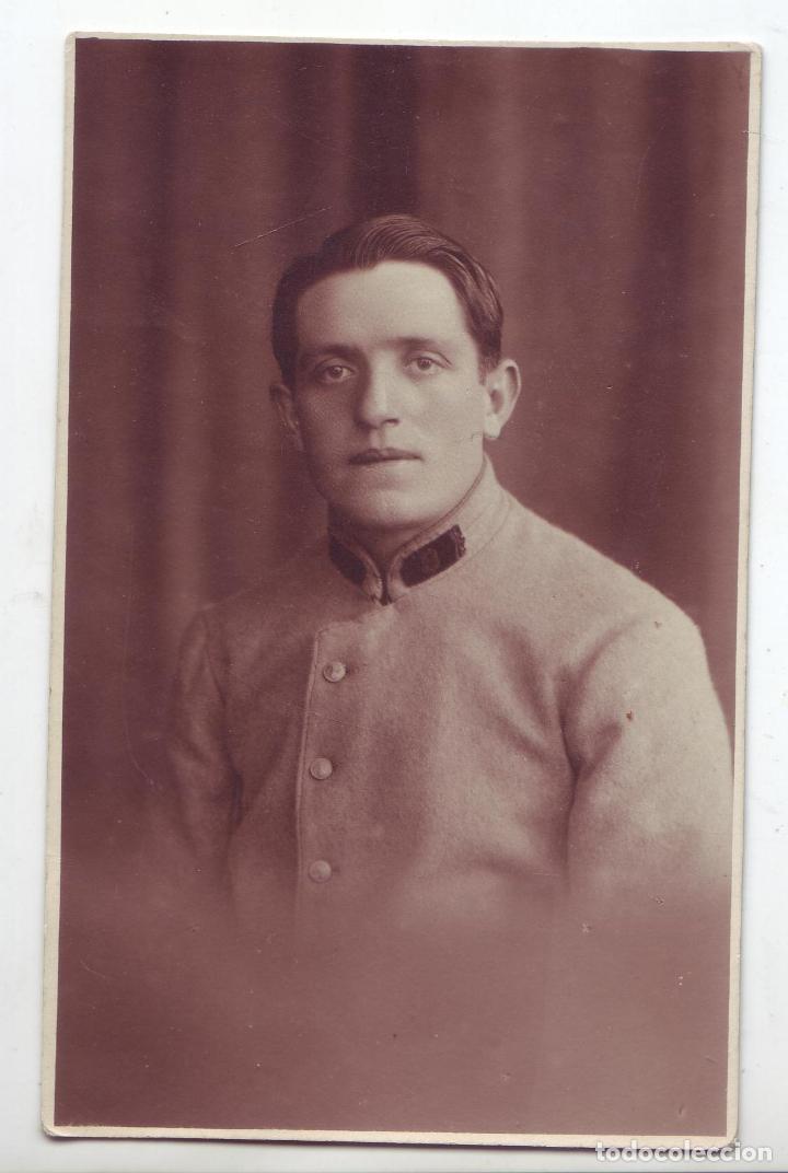 ALEMANIA IMPERIO - SOLDADO - FOTOPOSTAL TIPO CDV (Militar - Fotografía Militar - II Guerra Mundial)