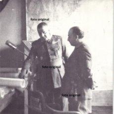 Militaria: GENERAL FRANCO TENIENTE CORONEL BARROSO MAPA OPERACIONES MILITARES GUERRA CIVIL. Lote 195871877