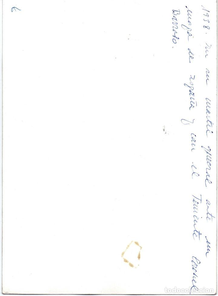 Militaria: GENERAL FRANCO TENIENTE CORONEL BARROSO MAPA OPERACIONES MILITARES GUERRA CIVIL - Foto 2 - 195871877