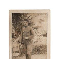 Militaria: FOTOGRAFÍA MILITAR. SOLDADO DEL SANIDAD MILITAR. ALFONSO XIII.. Lote 195981071