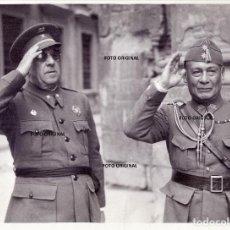 Militaria: CAPITAN GENERAL JOSE MOSCARDO HEROE ALCAZAR TOLEDO CON OFICIAL GUERRA CIVIL. Lote 195982537