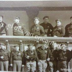 Militaria: GRUPO MANDOS OFICIALES-SUBOFICIALES Y JEFES ARTILLERIA. GUERRA CIVIL. Lote 196603568