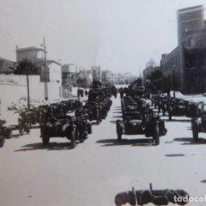 Militaria: FOTOGRAFÍA MOTOCICLETAS BMW DEL EJÉRCITO ESPAÑOL.. Lote 196756053