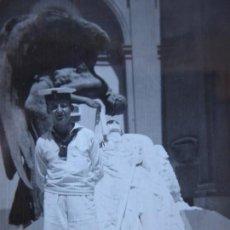 Militaria: FOTOGRAFÍA MARINERO ARMADA. PANTEÓN DE MARINOS ILUSTRES. Lote 196756943
