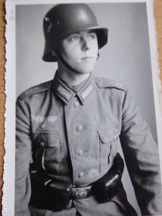 FOTOGRAFÍA SOLDADO DEL EJÉRCITO ALEMÁN. SEGUNDA GUERRA MUNDIAL (Militar - Fotografía Militar - II Guerra Mundial)