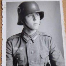 Militaria: FOTOGRAFÍA SOLDADO DEL EJÉRCITO ALEMÁN. SEGUNDA GUERRA MUNDIAL. Lote 196985951