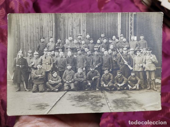 FOTOGRAFIA SOLDADOS ALEMANES 1ª GUERRA MUNDIAL -GERMANY (Militar - Fotografía Militar - I Guerra Mundial)