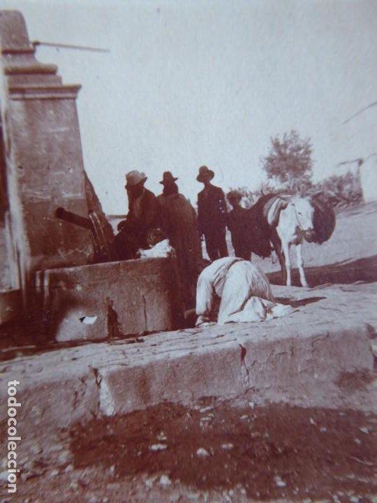 FOTOGRAFÍA FUENTE ALGECIRAS 1921. (Militar - Fotografía Militar - Otros)