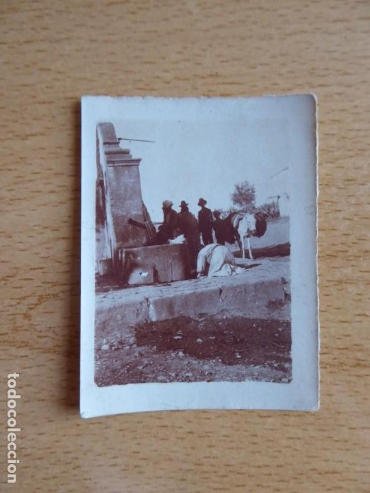 Militaria: Fotografía fuente Algeciras 1921. - Foto 2 - 197048467