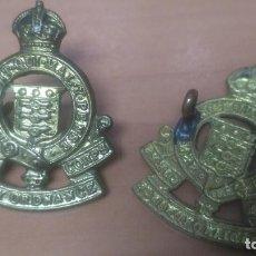 Militaria: WWII INSIGNIAS BRITANICAS DE LA ROYAL ARMY ORDENANCE CORPS.. Lote 197067760