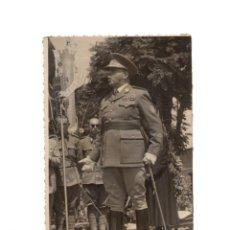 Militaria: JOSÉ ENRIQUE VARELA IGLESIAS, BILAUREADO LIBERADOR DE EL ALCÁZAR DE TOLEDO.- 8,5X13,5. FOTO CESPEDES. Lote 197091720