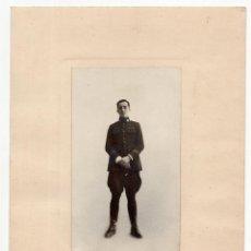 Militaria: SOLDADO CUERPO DE REGULARES?.- 1922. 14X17. FOT. FRAZEN. MADRID.. Lote 197095386