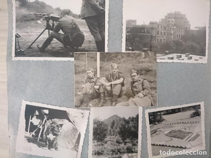 Militaria: GUERRA CIVIL 3 ÁLBUMES FOTOGRAFIAS_ EJÉRCITO ESPAÑOL - Foto 9 - 197097658