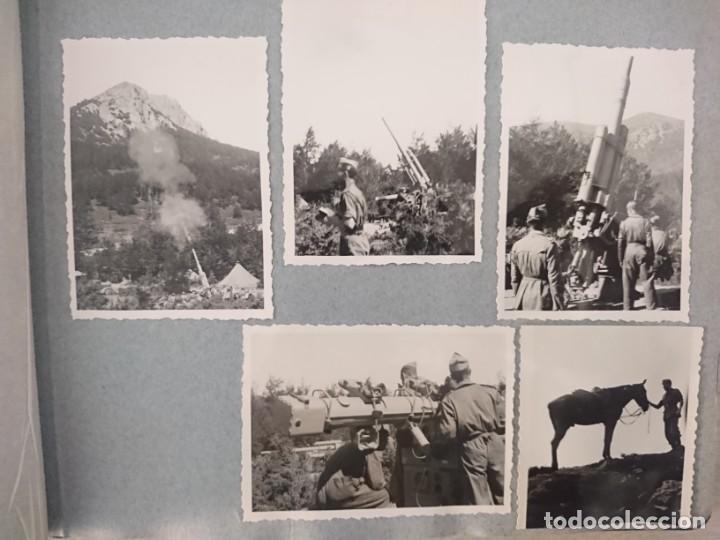 Militaria: GUERRA CIVIL 3 ÁLBUMES FOTOGRAFIAS_ EJÉRCITO ESPAÑOL - Foto 10 - 197097658
