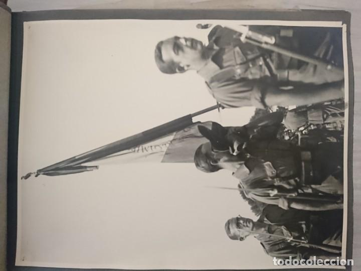 Militaria: GUERRA CIVIL 3 ÁLBUMES FOTOGRAFIAS_ EJÉRCITO ESPAÑOL - Foto 18 - 197097658