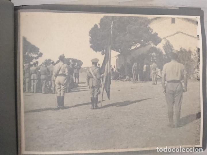 Militaria: GUERRA CIVIL 3 ÁLBUMES FOTOGRAFIAS_ EJÉRCITO ESPAÑOL - Foto 20 - 197097658