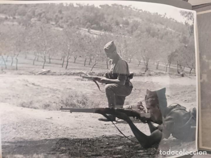 Militaria: GUERRA CIVIL 3 ÁLBUMES FOTOGRAFIAS_ EJÉRCITO ESPAÑOL - Foto 21 - 197097658