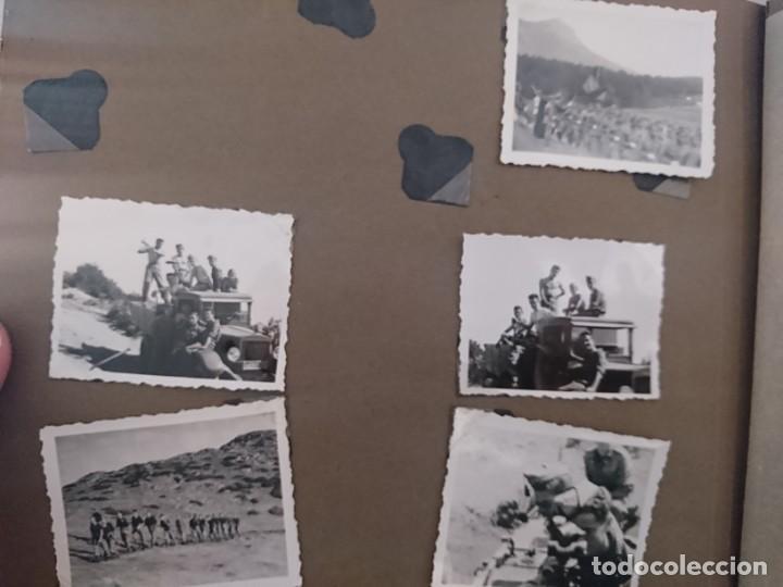 Militaria: GUERRA CIVIL 3 ÁLBUMES FOTOGRAFIAS_ EJÉRCITO ESPAÑOL - Foto 35 - 197097658