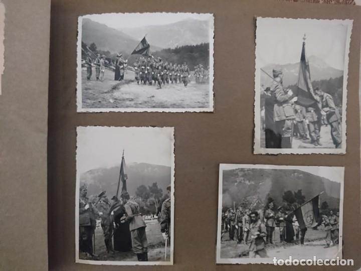Militaria: GUERRA CIVIL 3 ÁLBUMES FOTOGRAFIAS_ EJÉRCITO ESPAÑOL - Foto 37 - 197097658