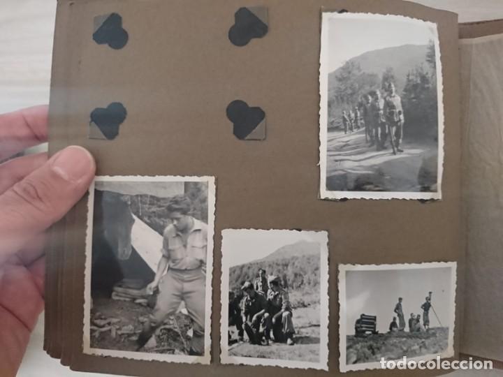 Militaria: GUERRA CIVIL 3 ÁLBUMES FOTOGRAFIAS_ EJÉRCITO ESPAÑOL - Foto 38 - 197097658