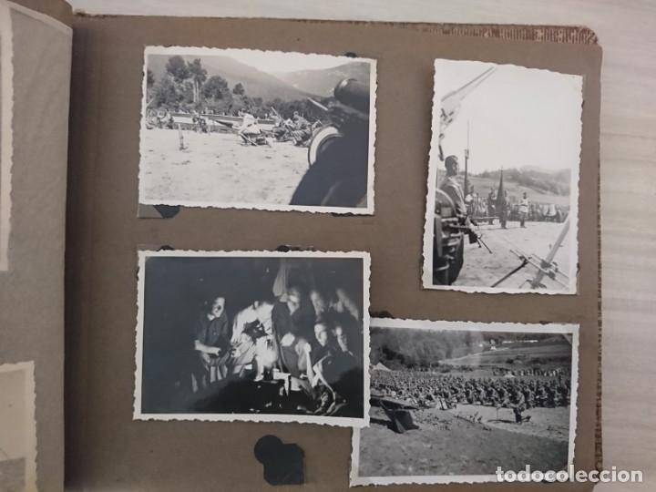 Militaria: GUERRA CIVIL 3 ÁLBUMES FOTOGRAFIAS_ EJÉRCITO ESPAÑOL - Foto 39 - 197097658